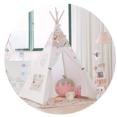 遺棄されたスリットハンサム子供のテントのゲームの家の赤ん坊のおもちゃ部屋の女の子の屋内王女部屋の世帯の子供の読書コーナー,C