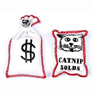 on sale Purr-Pet Catnip Bag Cat Toys 2 Pack