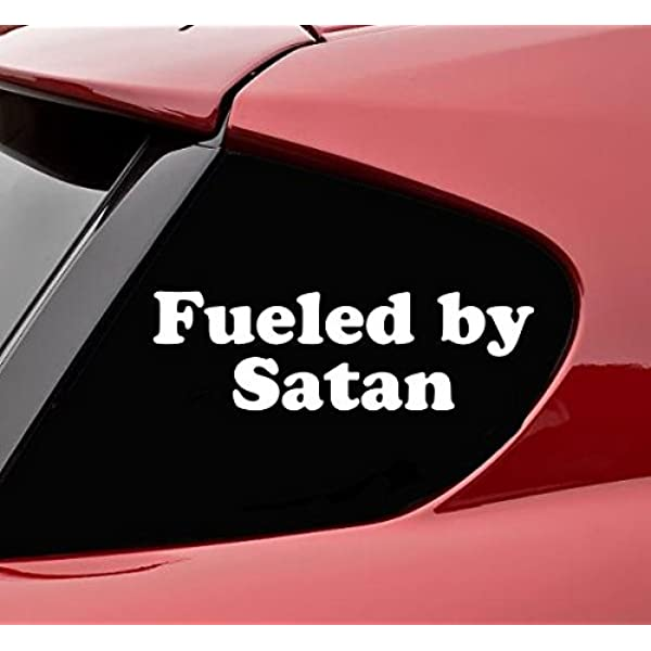 SATAN INSIDE Self Adhesive Car Sticker//Decals//Graphics by Stickers4