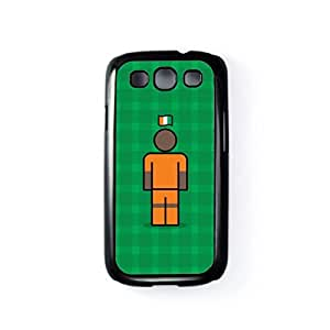 Ivory Coast Black Hard Plastic Case for Samsung? Galaxy S3 by Blunt Football International + FREE Crystal Clear Screen Protector