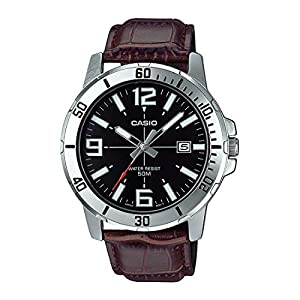 Casio Enticer Analog Black Dial Men's Watch – MTP-VD01L-1BVUDF (A1370)