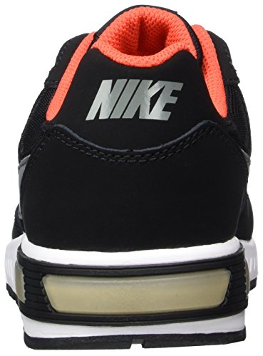 Nike 705477-011, Zapatillas de Deporte para Niños Negro (Black / Cool Grey / Max Orange / White)