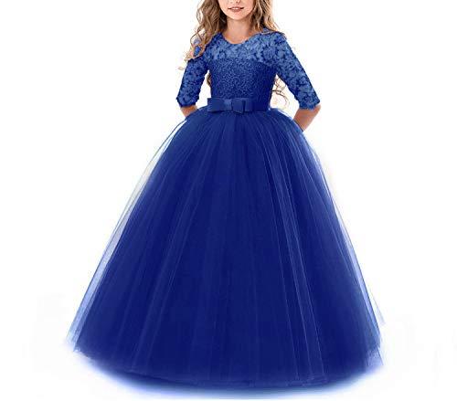 (Party Dress Summer Kids Dresses for Girls Children Costume Elegant Princess)