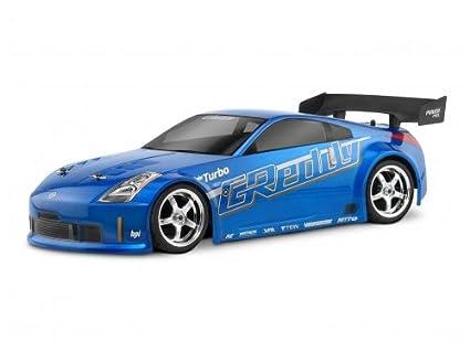 HPI Racing 17518 Nissan 350Z Greddy Twin Turbo Body, 200mm