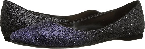 free shipping cheap Nine West Women's Speakup Canvas Ballet Flat Purple Black/Black Synthetic 2014 newest for sale low cost for sale iZXNu