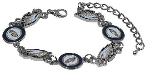 (NFL Philadelphia Eagles Logo Bracelet)