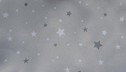 Rideau occultant gris étoilé pour chambre enfant: Amazon.fr: Cuisine ...
