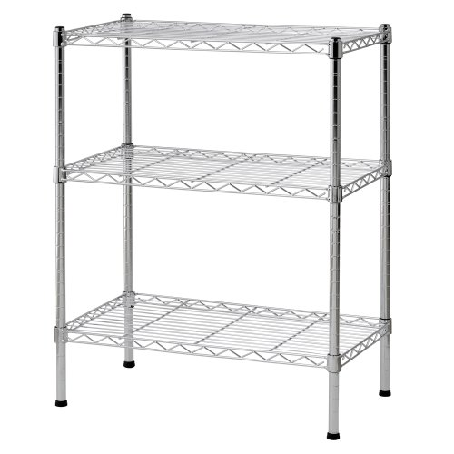 Open Adjustable Steel Shelving (Sandusky WS241430 Wire Shelving, 24