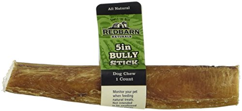 Redbarn Natural Dog Treat Bully Stick 5in (box of 50) by Best Bully Sticks