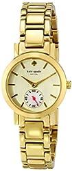 "kate spade new york Women's 1YRU0482 ""Gramercy Mini"" Gold-Tone Watch"
