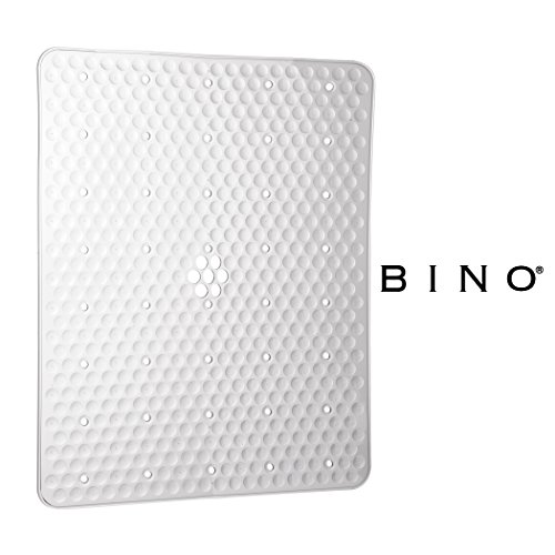 BINO Anti-Bacterial Kitchen Sink Protector Mat, Clear - Eco-