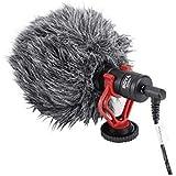 Microfone de gravação de vídeo Boya BY-MM1 para câmera DSLR smartphone osmo bolso youtube vlogging