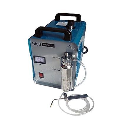 Portátil de oxígeno de hidrógeno Agua Soldador Llama Pulidora máquina de pulir H160 75L
