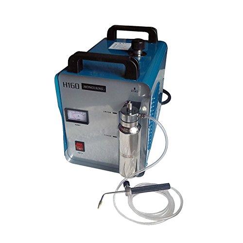 Portable Oxygen Hydrogen Water Welder Flame Polisher Polishing Machine H160 75L