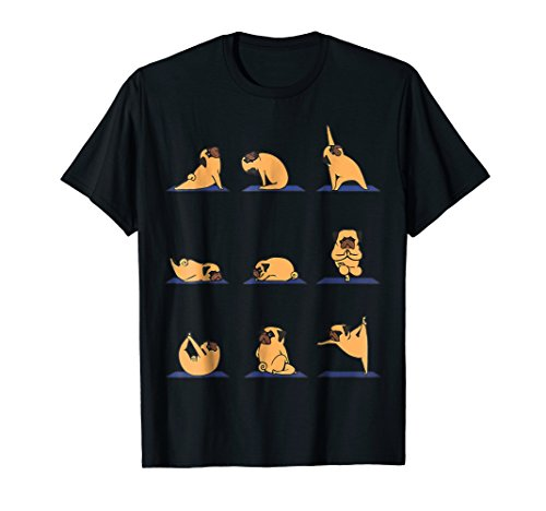 Pug Yoga Funny Shirt