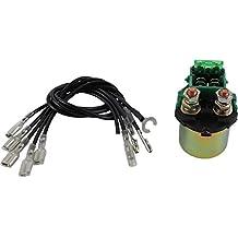 DB Electrical SND6058 Universal ATV/UTV Solenoid W/ Multiple Leads 12V Honda, Kawasaki, Polaris, Suzuki, Yamaha