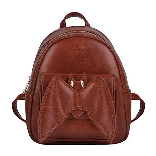 COOFIT Mini Backpack Bat Purse Gothic Backpack Purse Gothic Bags Mini Backpack for Women]()