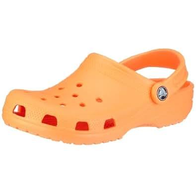 Crocs Classic Casual Shoes,Neon Orange,5 M US