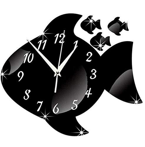 Gran tiend Wall Clocks Wall Clock Bell Family Pendulum Decoration 3D Clock -