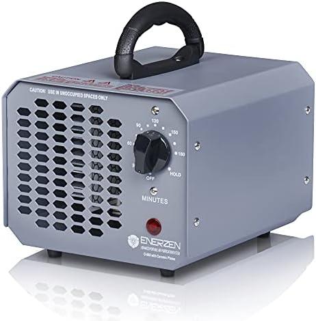 Enerzen High Capacity Commercial Ozone Generator 11,000mg Industrial Strength O3 Air Purifier Deodorizer Sterilizer (11,000mg – Gray)