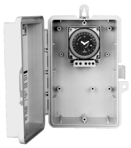 24 Hour Electronic Time Switch - Grasslin by Intermatic GMXFM1D20-O-120 Electronic 24-Hour/7-Day 120-volt Time Switch with NEMA 3R Outdoor Plastic Enclosure