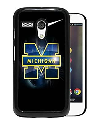 Michigan Wolverines Black Motorola Moto G Phone Case,Fashion Cover from Gainty