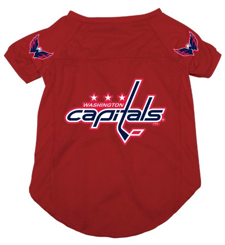NHL Washington Capitals Pet Jersey,  Medium