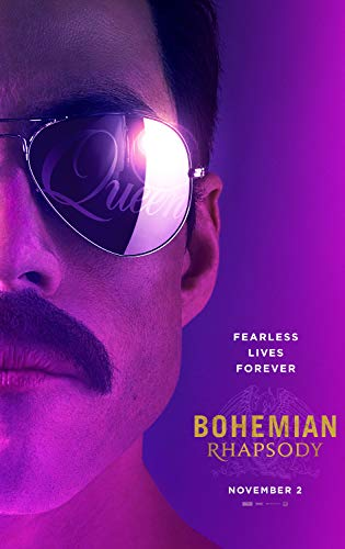Bohemian Rhapsody Movie Poster Limited Print Photo Rami Malek, Lucy Boynton Mike Myers Size 24x36#1 ()