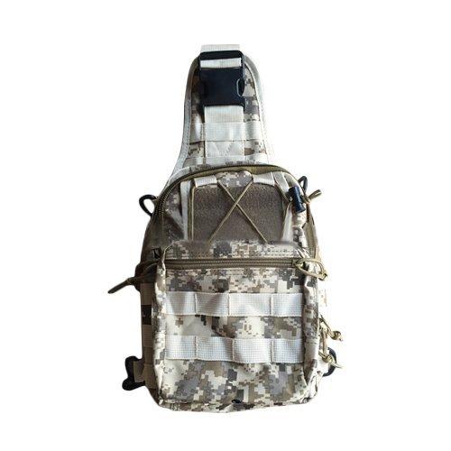 E9Q Los hombres ocasional del hombro Morral Militar táctico recorrido que acampa al aire libre del bolso del recorrido