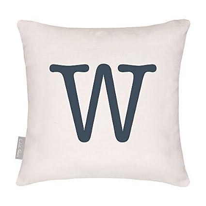 Apostrophe 40 x 40 cm Cushion Designers Impermeabile Alfabeto Classico Giardino Da esterno Cuscino Progettato Stampato /& fatti a mano nel Regno Unito