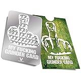 Grinder carte My Fucking Grinder Card