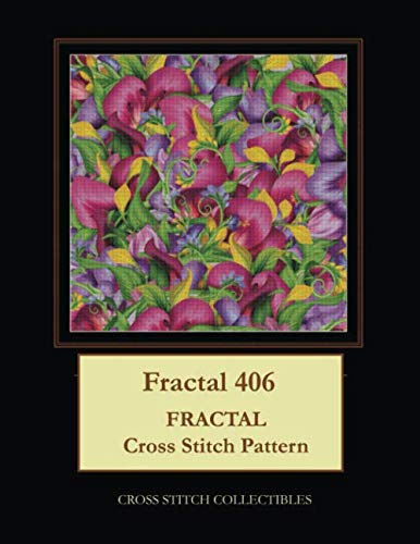 - Fractal 406: Fractal Cross Stitch Pattern
