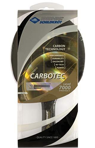 Donic Carbotec 7000 卓球ラケット トーナメントプレイ用に承認されたゴムを使用 B07PF6XF6Q