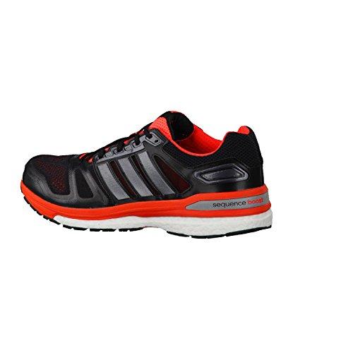 Adidas Supernova Sequence - Zapatillas de running para hombre BLACK1/CARMET/INFRED