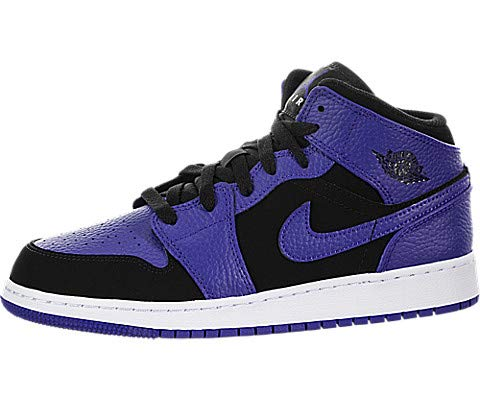 the latest 2c169 dd132 Nike Kids GS Air Jordan 1 Mid BG Basketball Shoe (6.5)