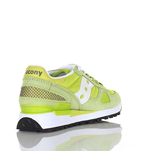 Saucony Zapatillas Shadow Para Verde Mujer bianco Original 7na4wx7