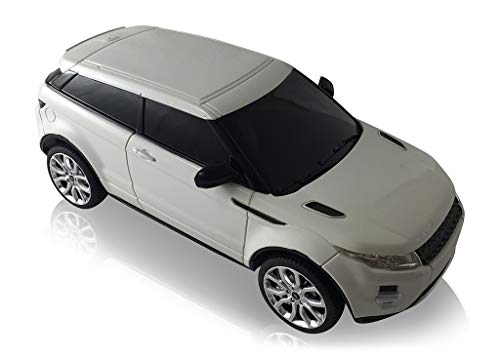 RASTAR Land Rover Range Rover Evoque 1:24 Scale Radio Controlled Model Car (White) (Range Rover Evoque Toy)