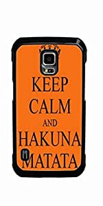 Keep Calm and Hakuna Matata Hard Case for Samsung Galaxy S5 Active