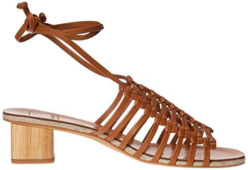Dolce Vita Women's Kai Slide Sandal Caramel Leather oEjMTHvI