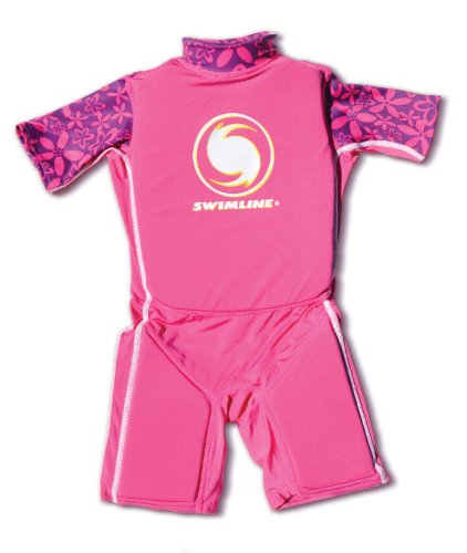 Swimline Lycra Floating Swim Trainer Suit, Girls (Spiderman Floating)