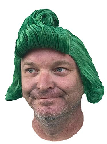 Oompa Loompa Wig Green Adults and Most Kids