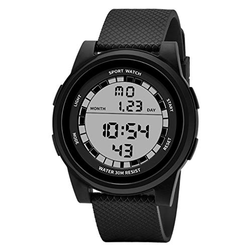 - Yezijin Waterproof Men's Multi Function Electronic Watch Outdoor Sports Special Forces for Father Men Student Youth Teens Boyfriend Lover's Birthday