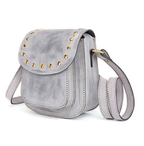 a piccola mano borse o in semplice sei Bag Fgsh femminile e tracolla Ms colori pratico Mini Messenger pelle moda Nero una borsa Xn04q
