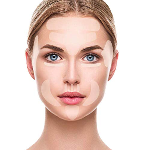 Face Wrinkle Remover Strips, Reusable Face Smoothing Patches, Anti-Wrinkle Face Pads for Forehead Eye Mouth and Upper Lip Wrinkles, Anti-Wrinkles Treatment, Set of 256pcs