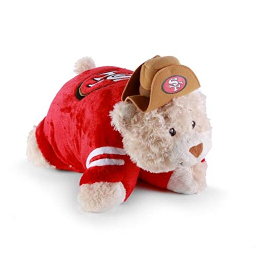 Fabrique Innovations NFL Pillow Pet , San Francisco 49ers, Large
