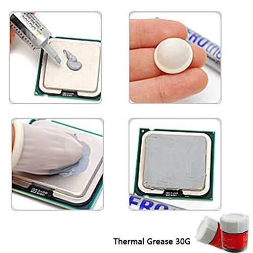 Jammas 30G full bottle containing silver gray thermal grease Grease CPU heat sink thermal grease thermal paste