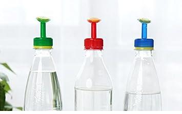 lingdun planta portátil botella de plástico boquilla de riego botella Cap Converter para riego boquilla funciona
