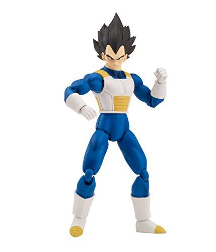 [Dragon Ball Super Stars Poseable Vegeta Action Figure] (Poseable Figure Toy)