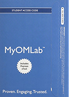 Amazon operations management sustainability and supply chain new myomlab with pearson etext instant access for operations management fandeluxe Image collections