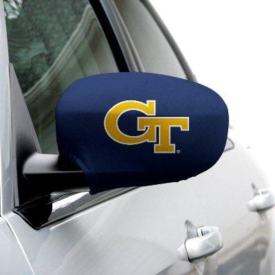 Georgia Tech - NCAA Side Mirror Cover - Set of 2 - Medium (6-9 Inches)